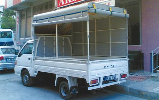 Hyundai Kamyonet Tentesi